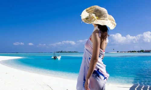 Girl On Beach @ Andaman - 900-500-48
