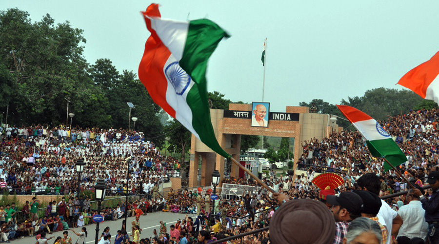 Wagah Border, Amritsar, Punjab, India