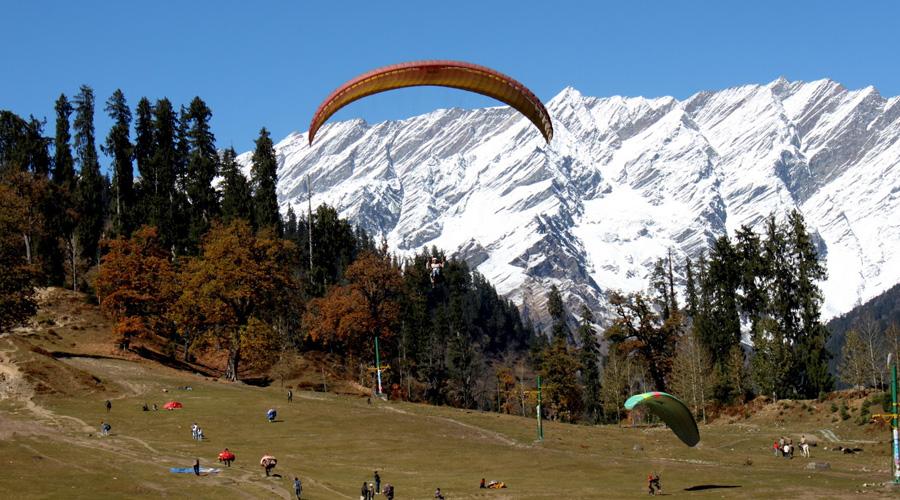 Solang Valley, Solang Nala, Manali, Himachal Pradesh, India, Asia