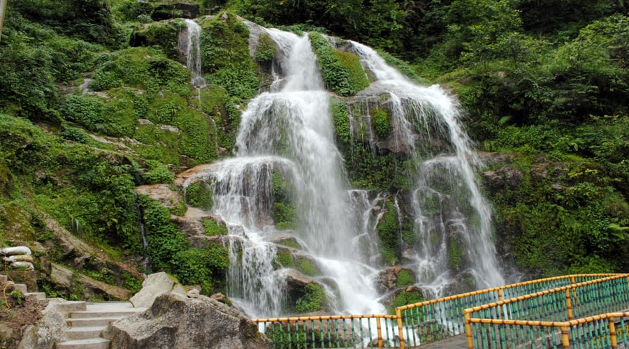 Bakthang Waterfall, Gangtok
