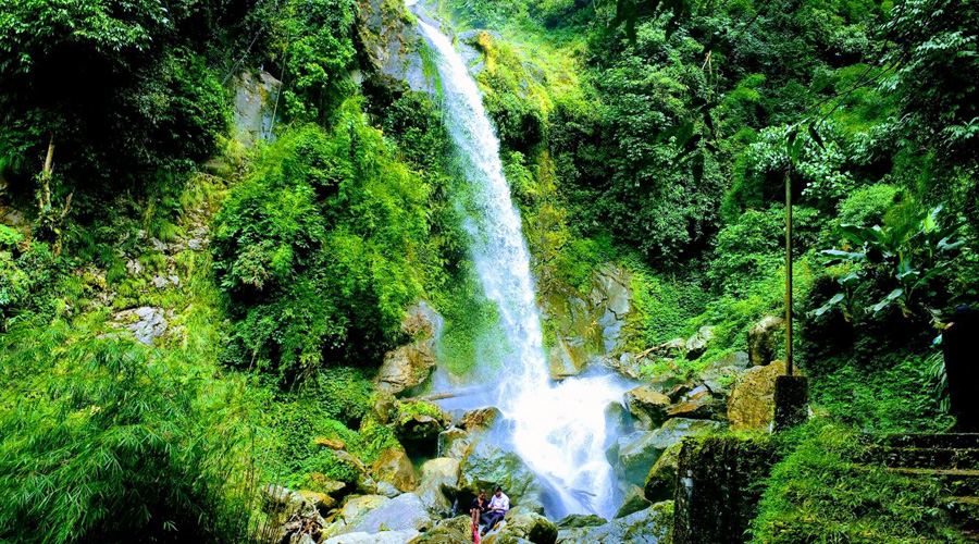 Rimbi Waterfalls, Pelling