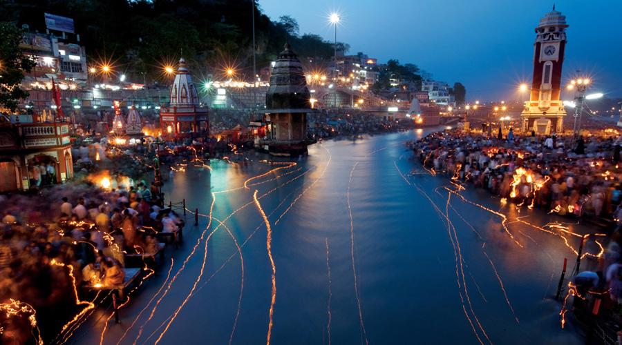 Har ki Pauri, Haridwar, Uttarakhand, India