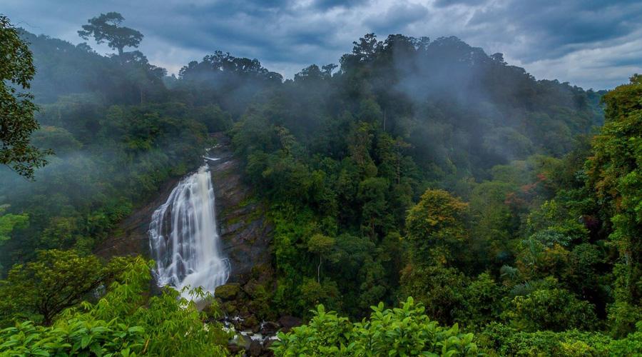 Attukad Waterfall, Attukal Waterfalls, Idukki, Munnar, Kerala