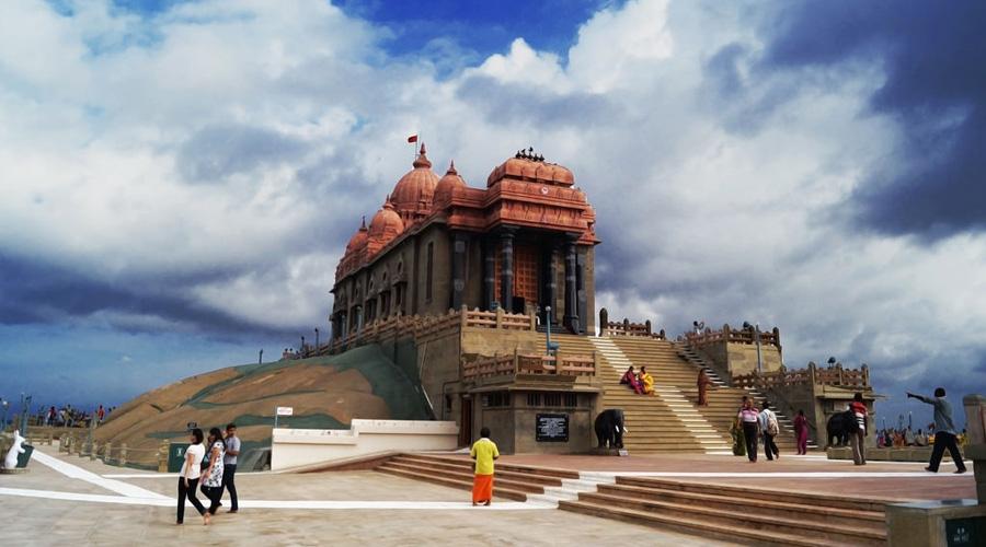 Kanya Kumari Temple, Kanyakumari, Tamil Nadu