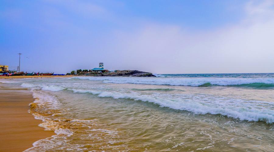 Kovalam Beach, Thiruvananthapuram, Kerala