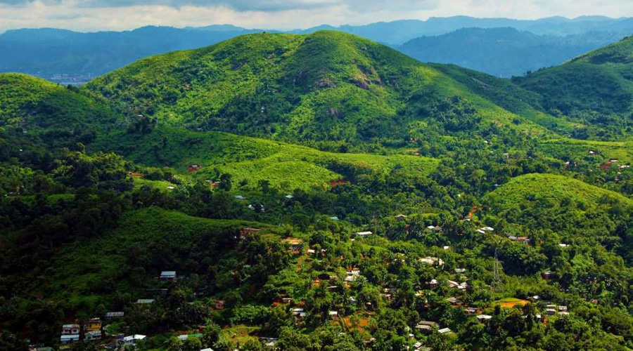 Nilachal Hill or Kamagiri Hills, Guwahati, Assam