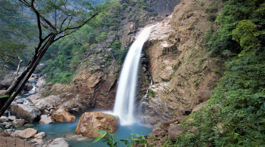Rainbow Falls, Cherrapunjee, Meghalaya