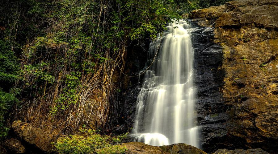 Sentinel Rock Waterfalls, Wayanad, Kerala