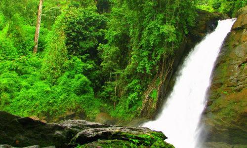 Soochipara Falls Or Sentinel Rock Waterfalls, Vellarimala, Wayanad, Kerala