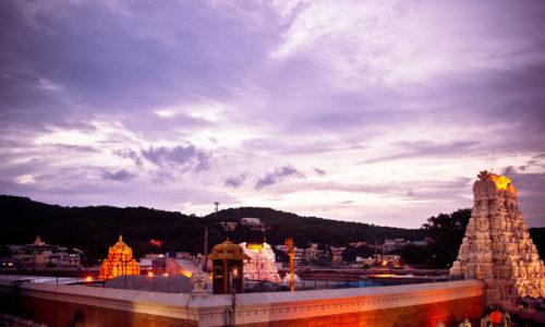 Venkateswara Temple, Tirumala, Andhra Pradesh, India, Asia