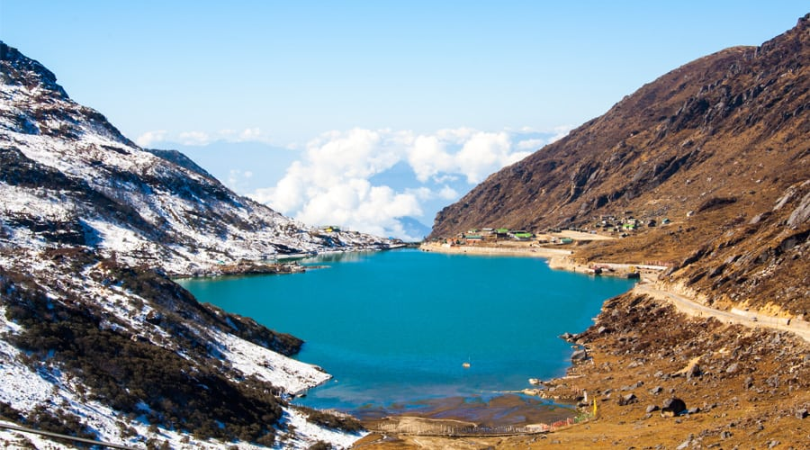 Tsomgo Lake or Changu Lake, Gangtok