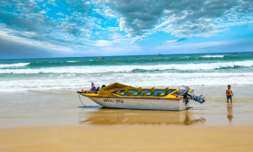 Baga Beach, North Goa, Goa, India