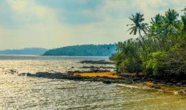 Bambolim Beach, Panjim, North Goa, Goa, India