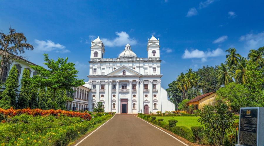 Church of St. Cajetan, Old Goa, Goa, India