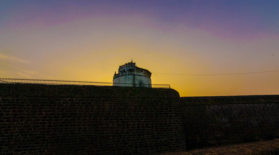 Fort Aguada, Candolim, North Goa, Goa, India