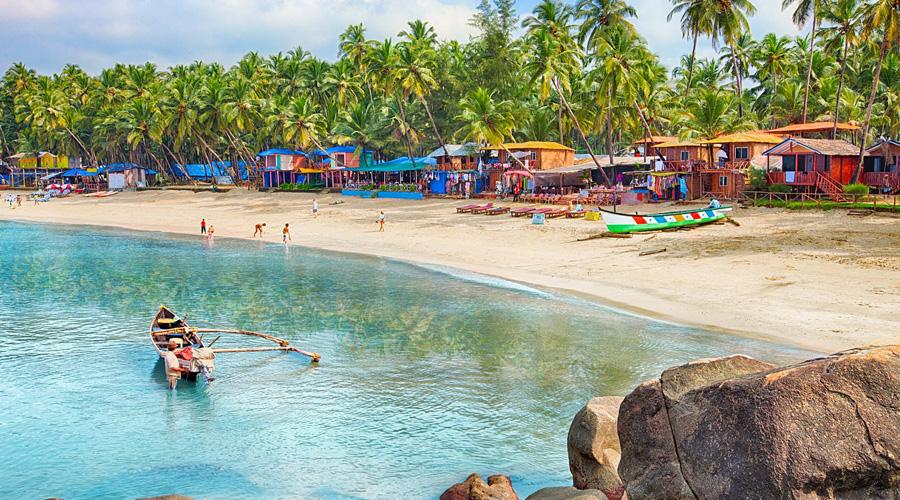 Palolem Beach, Canacona, South Goa, Goa, India