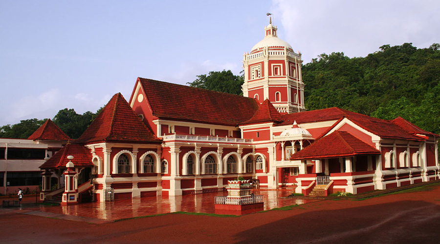 Shantadurga Temple, Panjim, North Goa, Goa, India