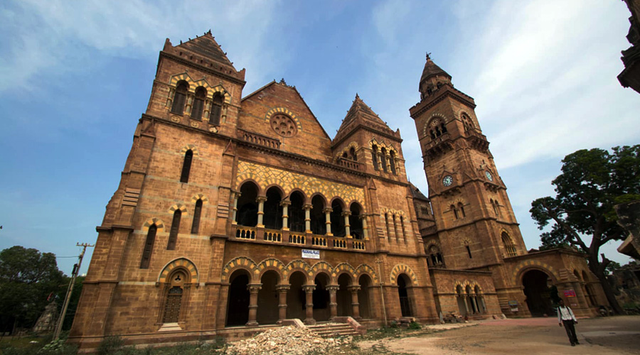 Prag Mahal Palace, Bhuj, Kutch, Gujarat, India