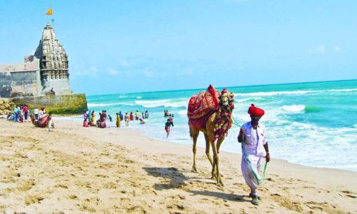 Dwarka Beach, Dwarka, Gujarat, India