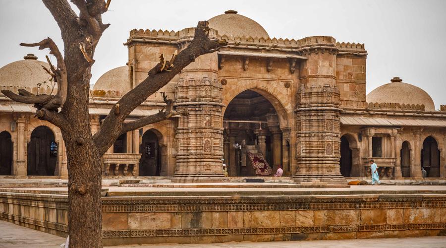 Jama Mosque, Ahmedabad, Gujarat, India