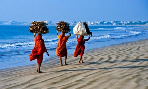 Mandvi Beach, Mandvi, Gujarat, India