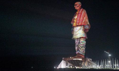 Statue Of Unity, Sardar Sarovar Dam, Kevadia, Gujarat, India