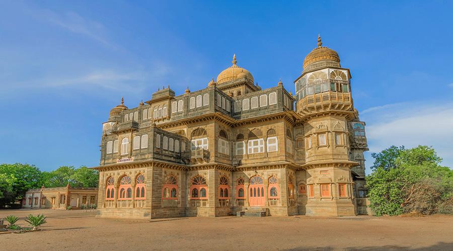 Vijaya Vilas Palace, Kutch, Mandvi, Gujarat, India