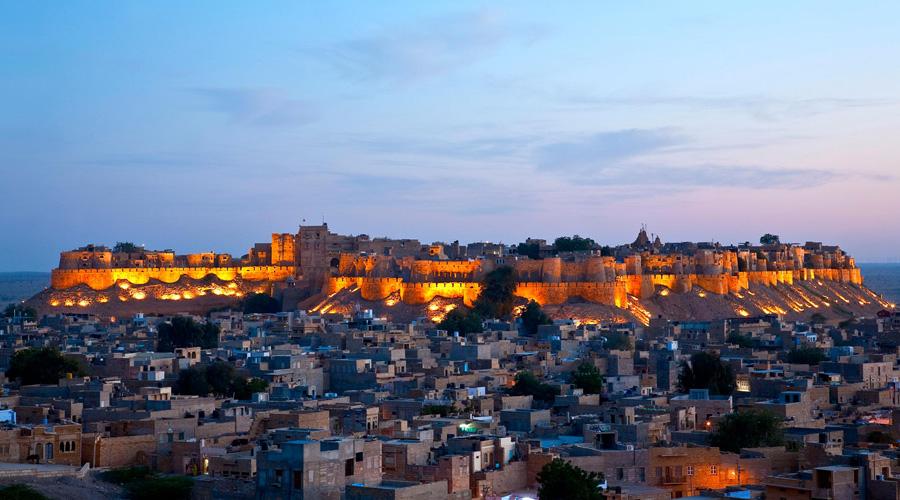Sonar Quila, Golden City Fort, Jaisalmer, Rajasthan, India