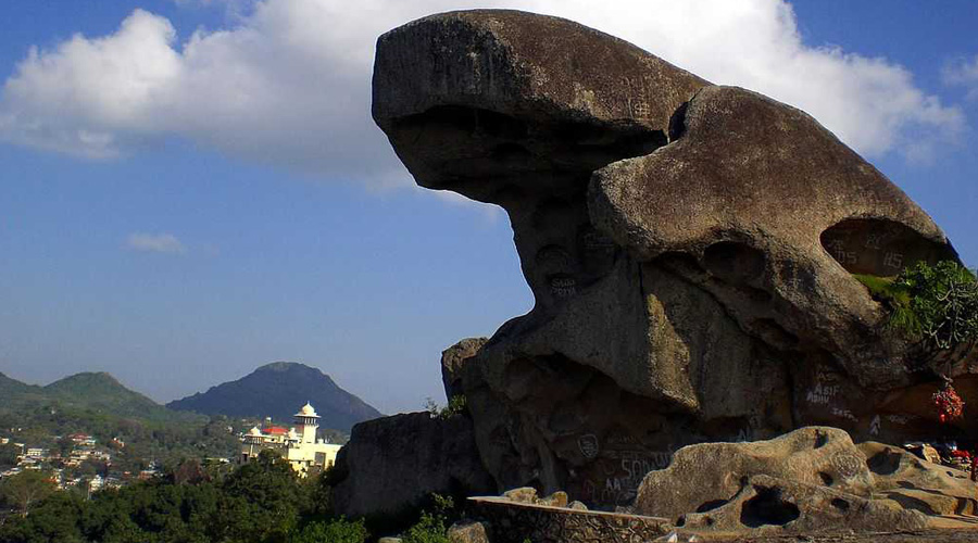 Toad Rock, Mount Abu, Rajasthan, India