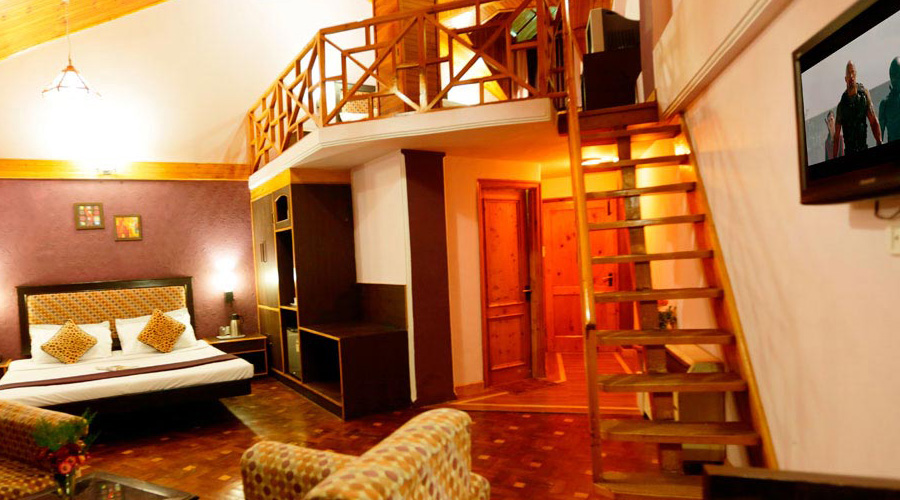 Snow Valley Resorts, Manali, SVR Special Duplex Room