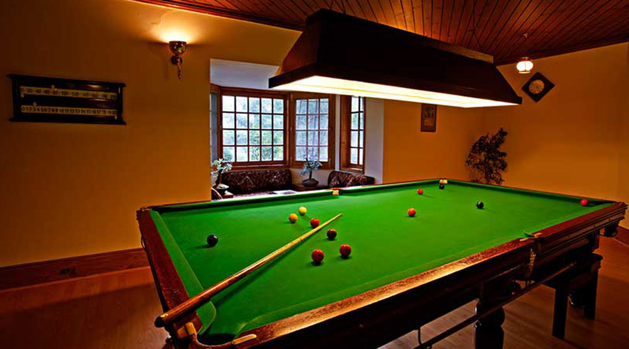 Span Resort And Spa, Manali, Billiards Room