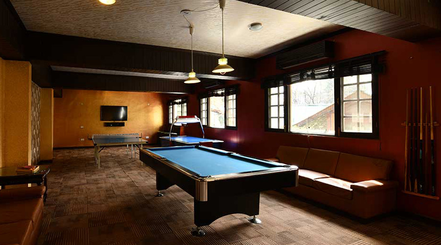 Span Resort And Spa, Manali, Sports Cafe