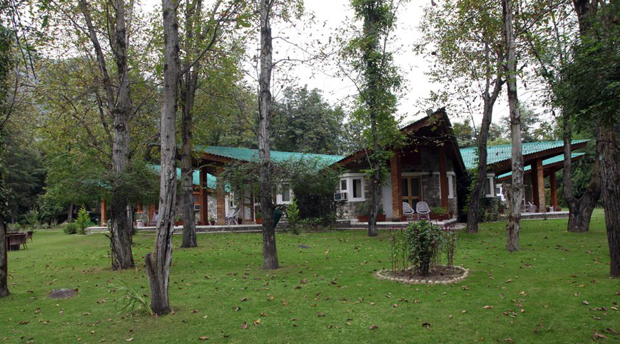 Span Resort And Spa, Manali, The Residence Garden