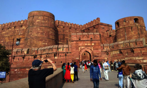 Agra Fort, Agra, Uttar Pradesh, India