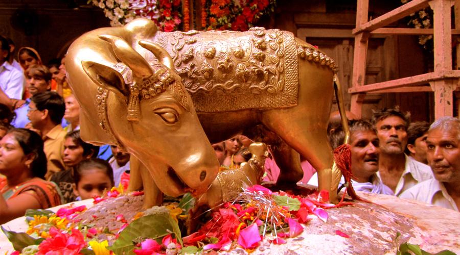 Banke Bihari Temple, Vrindavan, Uttar Pradesh, India