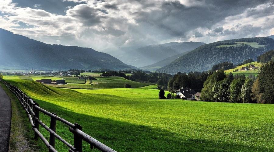 Alpine Valley, Pahalgam, Jammu and Kashmir, India