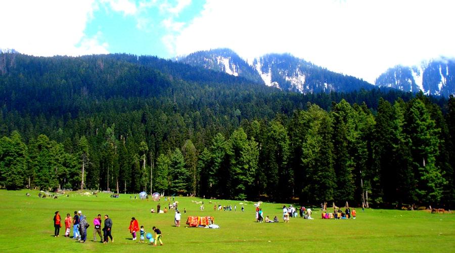 Betaab Valley, Baisaran Valley, Pahalgam, Jammu and Kashmir, India