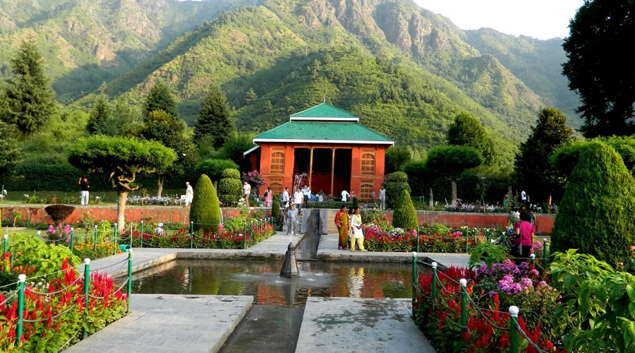 Chashma Shahi, Shalimar Bagh (Mughal Garden), Srinagar, Jammu and Kashmir, India