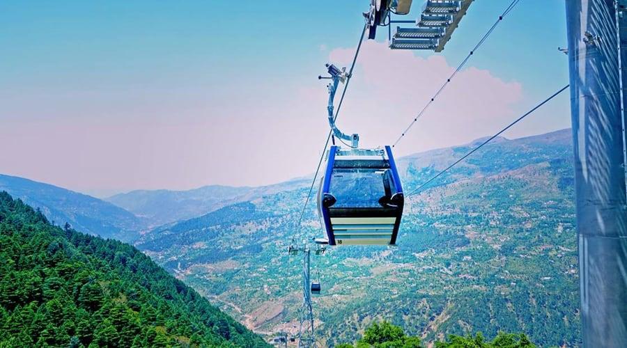 Gondola Ride, Patnitop, Udhampur, Jammu and Kashmir, India
