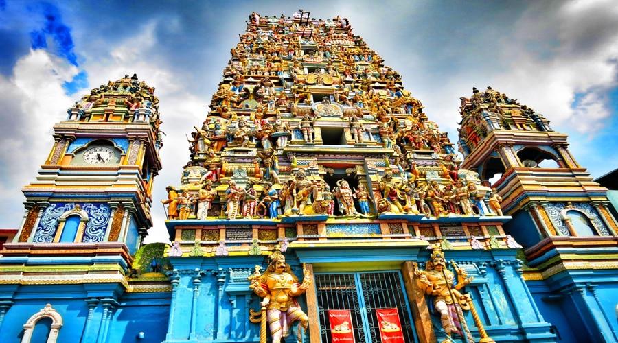 Manavari Kovil, Bangadeniya, Sri Lanka, Asia