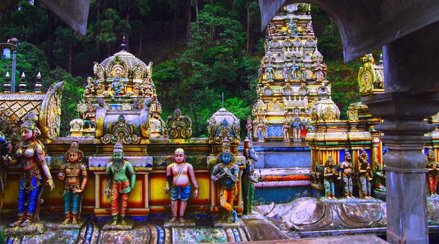 Seetha Amman Temple, Ashok Vatika (Seetha Eliya), Nuwara Eliya, Sri Lanka, Asia