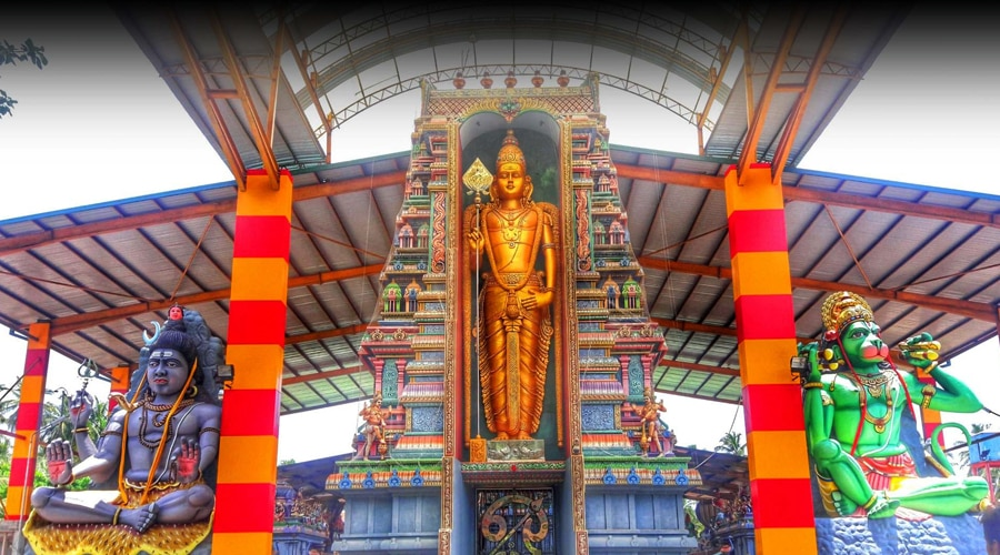 Sri Munneswaram Temple, Puttalam, Sri Lanka, Asia