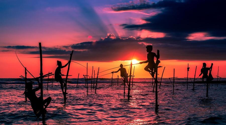 Mirrissa, Bentota Beach, Sri Lanka, Asia