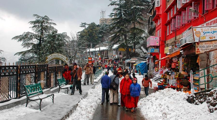 Lakkar Bazar, Shimla, Himachal Pradesh, India