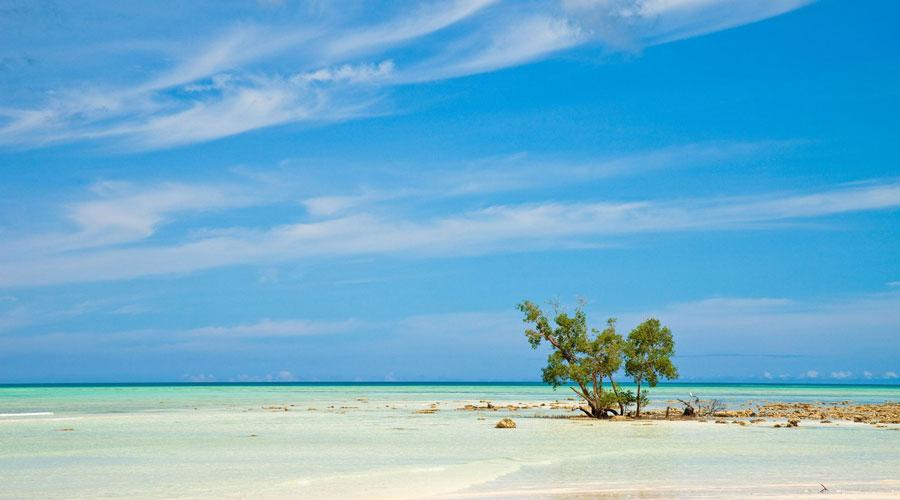 Corbyn's Cove Beach, Port Blair, Andaman and Nicobar Islands, India, Asia
