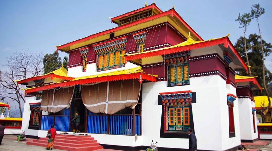 Enchey Monastery, Gangtok, Sikkim, North East, India