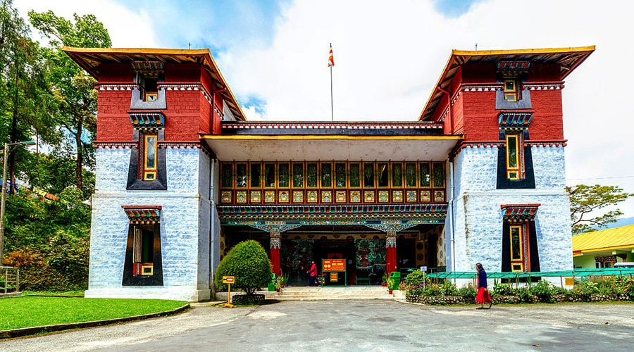 Namgyal Institute of Tibetology, Gangtok, Sikkim, North East, India