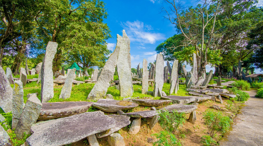 Nartiang Monoliths, Jowai, Meghalaya, North East, India