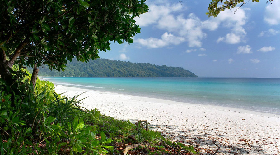 Radhanagar Beach, Havelock Island (Swaraj Dweep), Andaman and Nicobar Islands, India, Asia