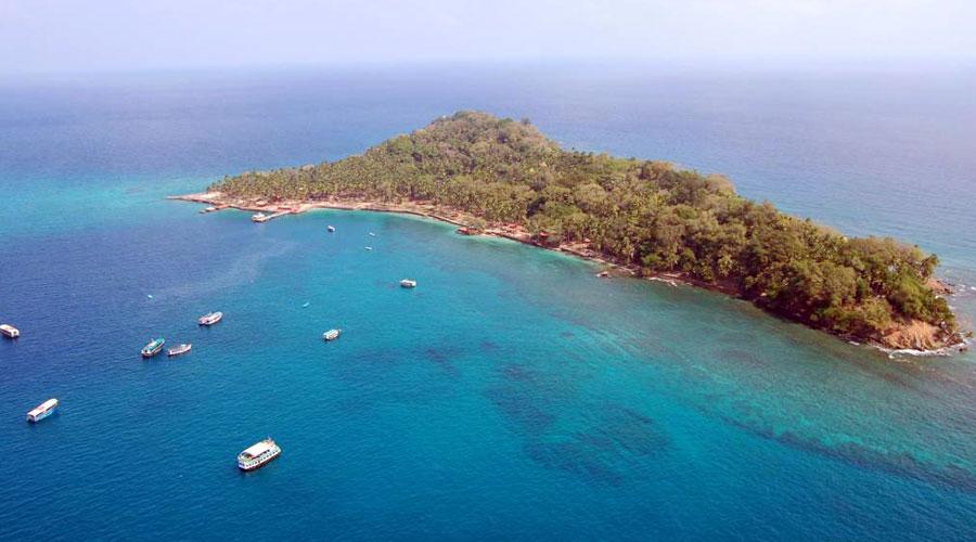 Ross Island (Netaji Subhash Chandra Bose Island), Port Blair, Andaman and Nicobar Islands, India, Asia